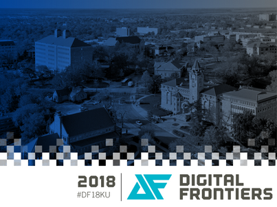 Digital Frontiers 2018 with IDRH at KU [Extended Deadline: 4/22!]