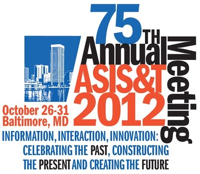 ASIST 75th Annual Meeting: Information, Interaction, Innovation