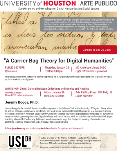 """A Carrier Bag Theory for Digital Humanities"""