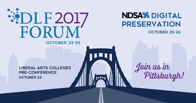 DLF Forum, October 23-25th -- Join us in Pittsburgh!
