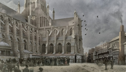 Symposium and opening of Virtual St. Pauls at Hunt Library, November 5.