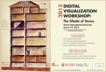 2013 Digital Visualization Workshop:  The Ghetto of Venice