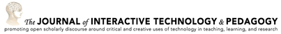 Journal of interactive technology and pedagogy logo