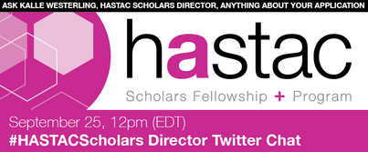 Twitter Chat with Director of HASTAC Scholars