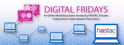 RSVP for Digital Fridays! The topic is the Grad School Application Process