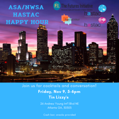 HASTAC Happy Hour at ASA/NWSA 2018 in Atlanta—Join Us!