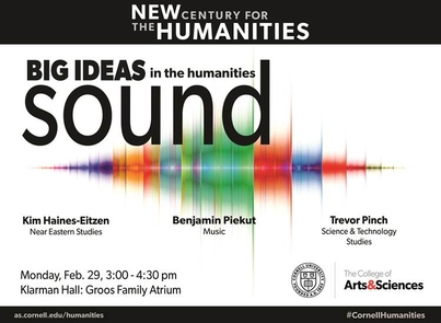 Big Ideas in the Humanities: Sound