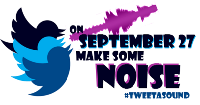 You're invited to #TweetaSound, Sept. 27th!