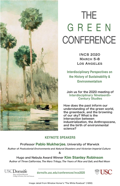 INCS 2020: History of Sustainability & Environmentalism LA March 5-8
