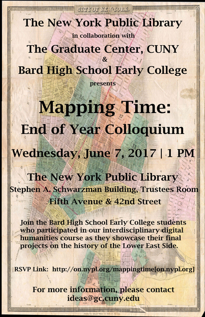 Mapping Time Colloquium