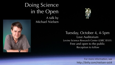 Doing Science in the Open - a talk by Michael Nielsen