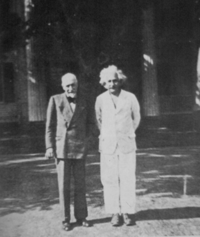 Pirandello and Einstein