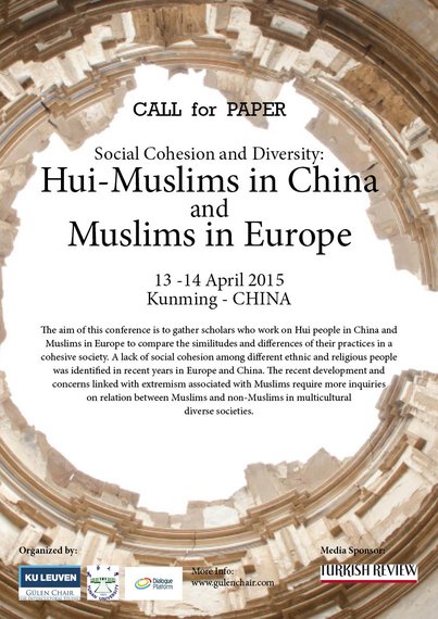 Social Cohesion and Diversity: Muslims in China and Europe