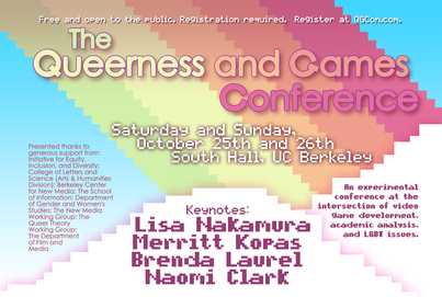 The Queerness and Games Conference