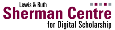 Sherman Center for Digital Scholarship logo