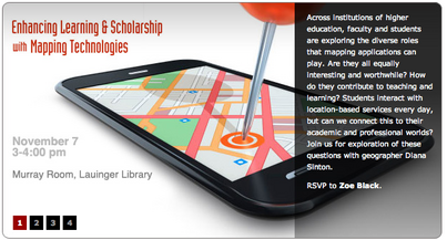 Enhancing Learning & Scholarship with Mapping Technologies