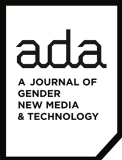 CFP: Ada: A Journal of Gender, New Media, and Technology