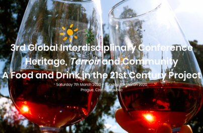 Heritage, Terroir and Community: 3rd Global Food and Drink in the 21st Century Conference