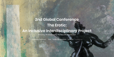 The Erotic: 2nd Global Inclusive Interdisciplinary Conference