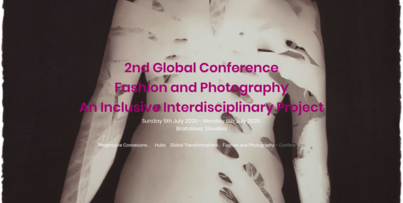 Fashion and Photography: 2nd Global Interdisciplinary Conference