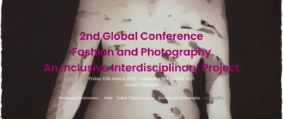 Fashion and Photography: 2nd Inclusive Interdisciplinary Conference