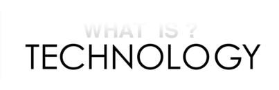 CFP: What is Technology? (2019) *Deadline Extended to January 21st!