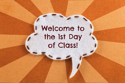 02. 1st day of class