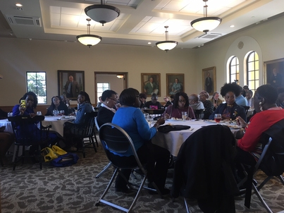 2018 Communities Conference II: Civic Conversations Continue Luncheon Scene