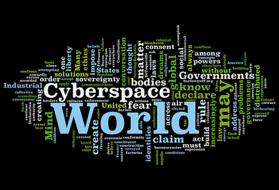 Word Cloud: The Declaration of Freedom of Cyberspace
