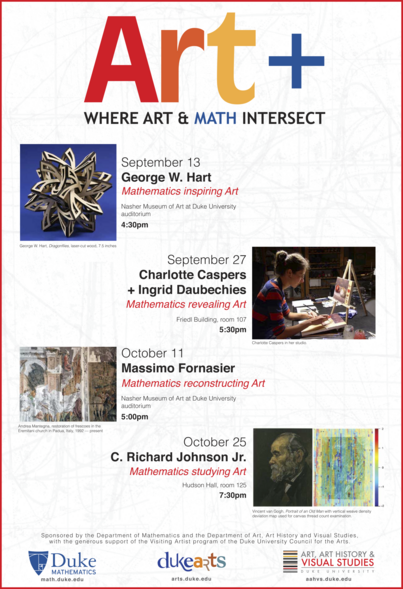 Art +: Where Art & Math Intersect events