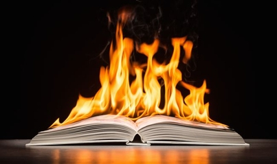 Books: Warning, Flammable