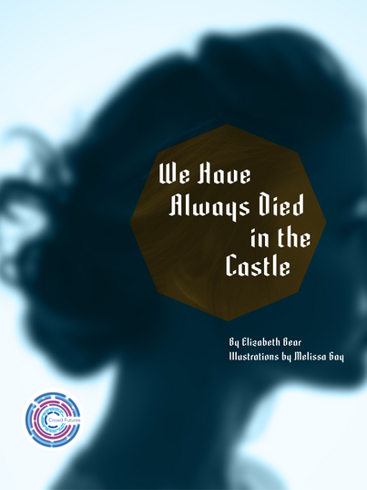 Book cover showing a woman's head in silhouette, facing to the right.