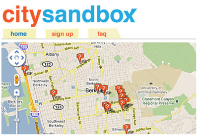Greg Niemeyer's Social App Lab launches City Sandbox: Q&A Site for Civic Action