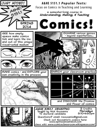 Teaching with Comics: Nick Sousanis' Comics Classroom