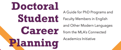 Recap: A Tool Kit for Doctoral Student Career Planning