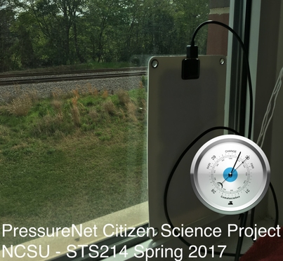 PressureNet Citizen Science Project [NCSU - STS214 Spring 2017]