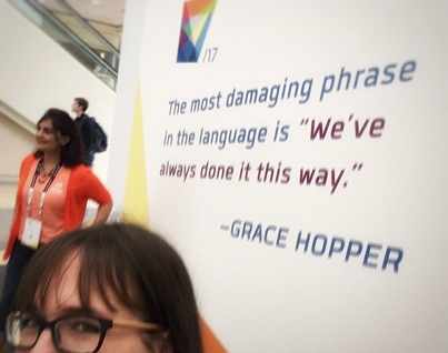 Conference Report: The 2017 Grace Hopper Celebration of Women in Computing