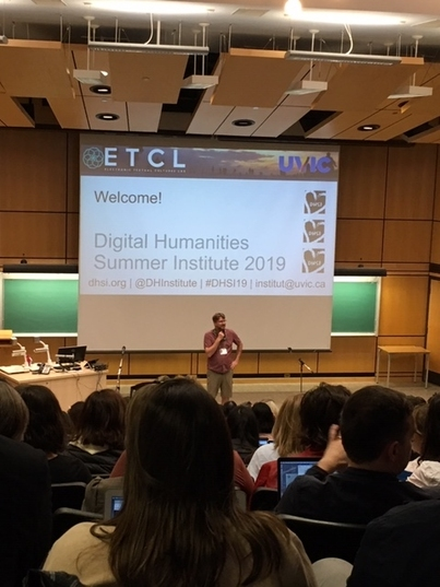 Digital Humanities Summer Institute 2019