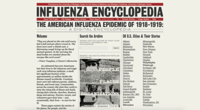 Inspecting Influenza: Review of American Influenza Epidemic of 1918-1919: A Digital Encyclopedia