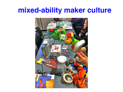 Making Space in the Makerspace: Building a Mixed-Ability Maker Culture