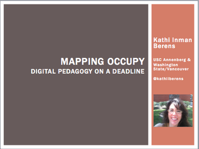 Mapping Occupy: Digital Pedagogy On a Deadline