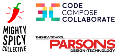 Code, Compose, Collaborate from Mighty Spicy at Parsons!