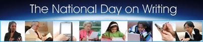 Today is the National Day on Writing!