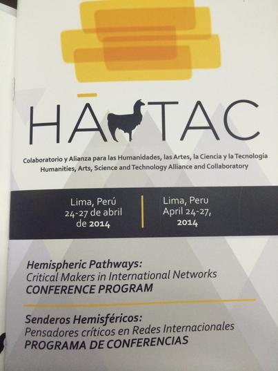 #HASTAC2014 Peru Day I: OPENing Up