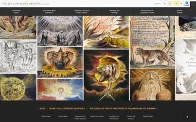 The William Blake Archive Homepage