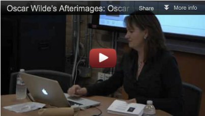 "Watch it now: HASTAC Videos on Oscar Wilde, ""How to Create a Humanities MOOC"""
