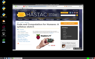 How I use HASTAC: A case study