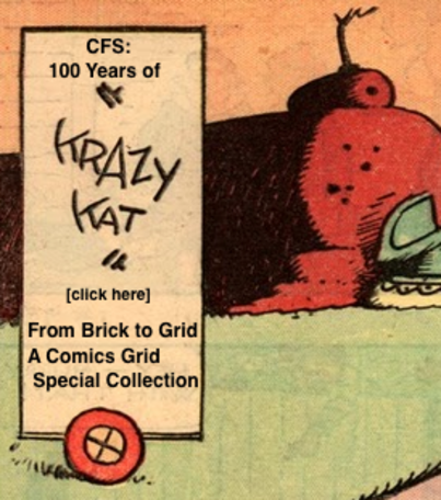 Call for Submissions: Special Collection on 100 Years of Krazy Kat