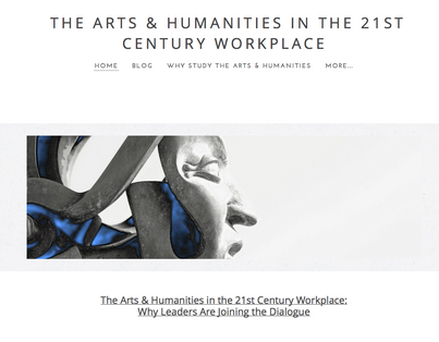 """The Arts & Humanities in the Workplace: Why Great Leaders are Joinng the Dialogue"""