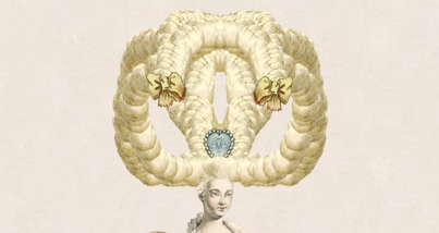 Design an 18th-century (Digital) Wig via the Victoria and Albert Museum
